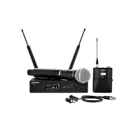shure-qlxd wireless microphone